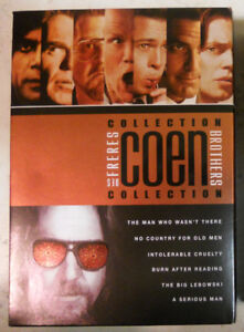 The Coen Brothers Collection 6 Film DVD Box Set