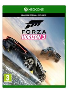 Forza Horzion 3, new copy, never been played