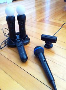 PS Move, jeux et accessoires