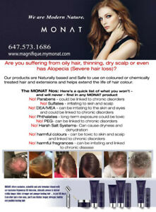 MONAT Anti Aging Hair Products.