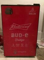 Budweiser beer bud - e Fridge holds 78 bottles/cans Brand New