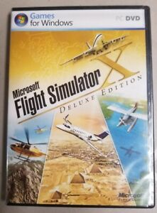Flight Simulator X Deluxe Edition - NEW, NEVER USED