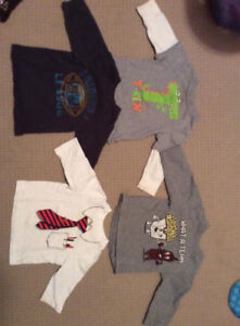 Boy 12 month Long sleeve tops and pants