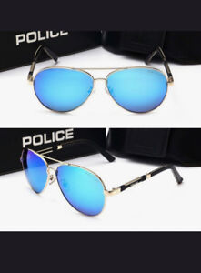 Stainless Steel Gold Frame **Police** Sunglasses