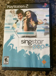 Sing Star Pop for PS2