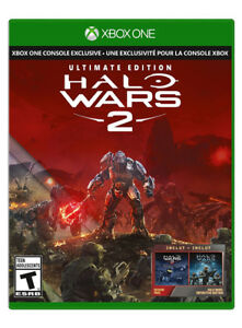 Halo Wars 2 Ultimate Edition Brand New in Plastic - Xbox One