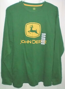 John Deere Med and Large Thermal Long Sleeve T Shirts and Cap London Ontario image 2