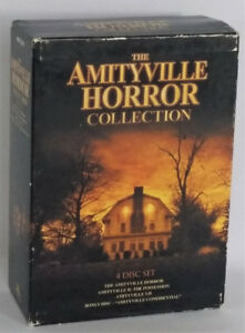 The Amityville Horror Collection 4 Disc DVD Set