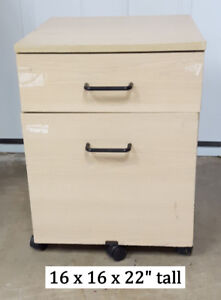 2 Drawer File - storage cabinet on wheels
