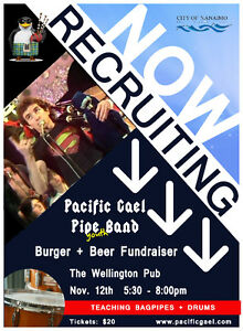 Pacific Gael Pipe Band - Burger + Beer