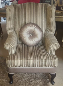 Fancy Accent Chair for sale - Moving Sale