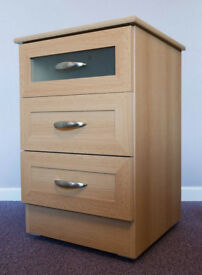 3-Drawer Bedside Cabinet