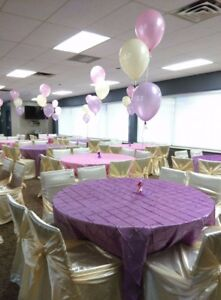 Chair Covers and Sashes for Rent