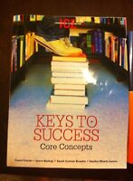 Keys to Success: Core Concepts for UNIV 1011 - $50