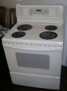 Convection Stove / Range with self clean, almond
