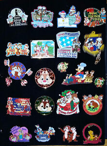 Disney Chip n Dale collectible pins - Reduced!