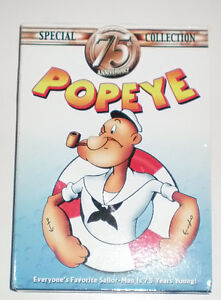 Popeye Mount Rushmore XL T Shirt and 75th Anniversary DVD Set London Ontario image 2
