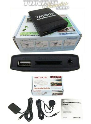 Para Mazda Original Radio Bluetooth BT USB SD MP3 Aux Adaptador Cambiador...
