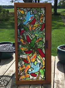 30% OFF ALL INSTOCK MOSAIC STAINED GLASS WINDOWS! Cambridge Kitchener Area image 8