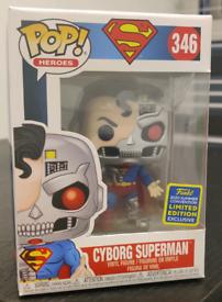CYBORG SUPERMAN SDCC 2020 FUNKO POP 346