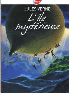 L'ILE MYSTERIEUSE PAR JULES VERNE - FRENCH BOOK