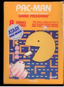 Various 1980s ATARI 2600 Video Games Pacman & more