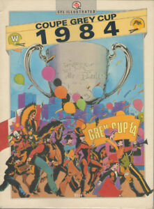 Coupe Grey Cup 1984 Program