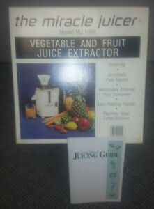 the Miracle Juicer