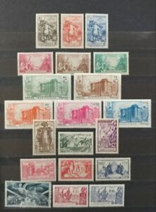 French Colonies Stamp Collection  Martinique Sets/Singles