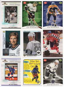 Lot of 125 Wayne Gretzky hockey cards second ad