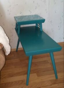 Refinished Retro Side Table