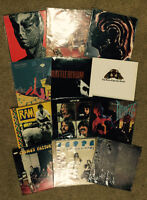 200 LPs albums records collection Stones Beatles U2 Dylan rock!!