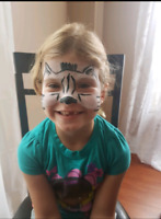 Looking for a facepainter? $30/hr