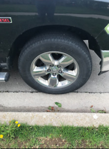 2016 Dodge Ram Rim as shown on truck. Great condition minus ding