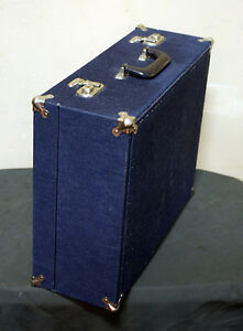 Levis Denim Briefcase / Suitcase Super Cool & Fun!!  SEE VIDEO