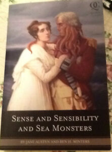 New copy: SENSE AND SENSIBILITIES AND SEA MONSTERS; others 3/$10