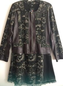 MÉ Paris Terra-Nostra dress and jacket Size 5 XL
