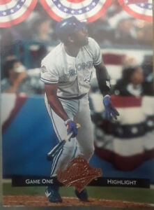 TORONTO BLUE JAYS 1992 WORLD CHAMPS SPECIAL.EDITION CARD SET
