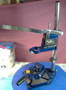 POWER CRAFT PLUNGE DRILL STAND AND DRILL PRESS VISE