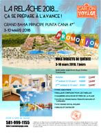 RELÂCHE 2018 AU GRAND BAHIA PRINCIPE PUNTA CANA 4*