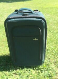 Atlantic Carry-On Suitcase, Luggage on wheels, Excellent Shape!