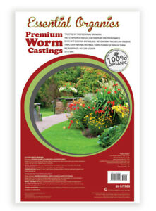 Essential Organics Premium Worm Castings Only in 20 L Bags