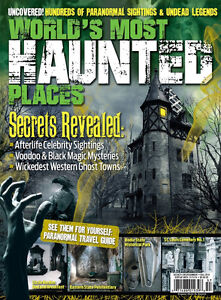 World's Most Haunted Places-Secrets Reveled Magazine-Mint +