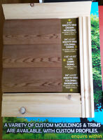 Solid wood trims and mouldings