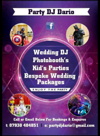 Mobile disco and party host