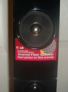 LG Speakers & subwoofer - brand new Peterborough Peterborough Area image 2