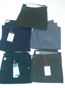 5 New pairs of men's pants / trousers size 32/33