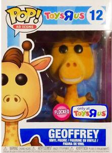Selling a Toys R Us Geoffrey Flocked Funko Pop