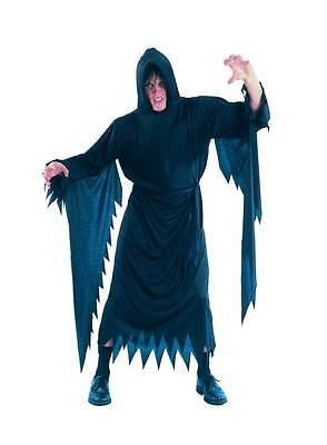 Demon / Scream, Halloween Kostüm, Schwarz - Scream Robe Kostüme