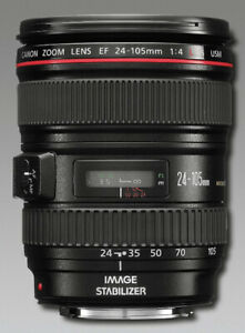 New in box - Canon EF 24-105/4L IS USM